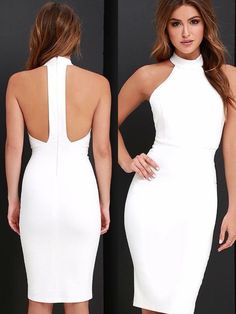 Fine images of cocktail holiday dresses 2019 Cocktail dress Event Dresses, Prom Party Dresses, Casual Dresses, Fashion Dresses, Formal Dresses, Holiday Dresses, Beauty And Fashion, White Fashion, Dress Up