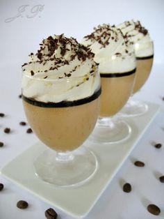 Panna cotta de café :: Kávová panna cotta