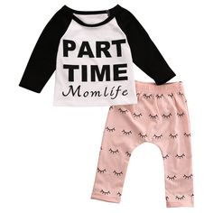 Momlife set. #petitelapetite #top #bottom #pants #set #momlife #moms #parttime #raglan #longsleeves #girls #hipster #babyclothes #onesie #onesies #onesieset #bodysuit #fall #spring #babyclothes #bodysuitset #romperset #baby #babies #toddler #toddlers #clothing #cute #toddlerwear #babywear #springclothes #fallclothes #clothes #cotton #babyclothesforsale #cutebabyclothes #coolbabyclothes #uniquebabyclothes #trendybabyclothes  #babyclothessale #babyclothesideas #babyclothesus #freeshipping