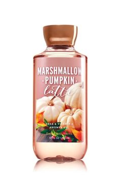 Marshmallow Pumpkin Latte Shower Gel - Signature Collection - Bath & Body Works