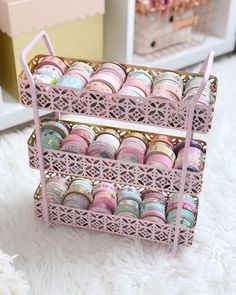 washi tape tray ideas