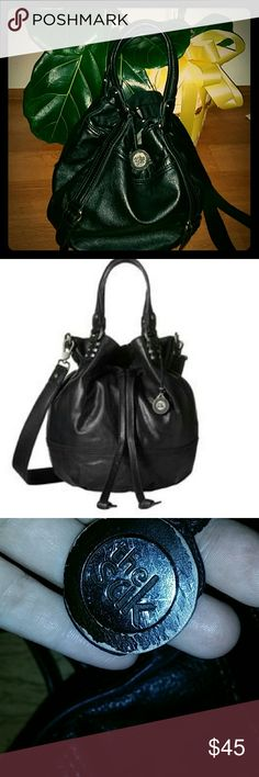 FIRM Madera The Sak Black Drawstring Bag