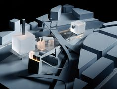 Alternative Realities: 7 Radical Buildings That Could-Have-Been,Coop Himmelb(l)au's design for the Guggenheim Museum Bilbao. Image © Markus Pillhofer