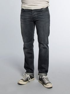 Steady Eddie Organic Black Voyage - Nudie Jeans Co Online Shop