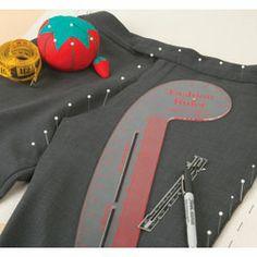 Haga un patrón de tus prendas favoritas   Make a pattern from your favorite garments