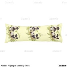 Panda's Playing in a Tree Body Pillow  http://www.zazzle.com/pandas_playing_in_a_tree_body_pillow-256810647100839199?rf=238588924226571373