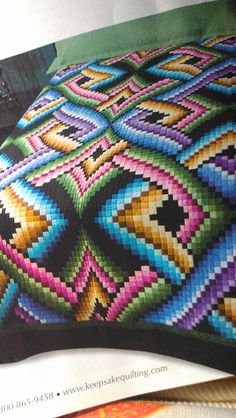 Bargello quilt my favorite.  Someday.....