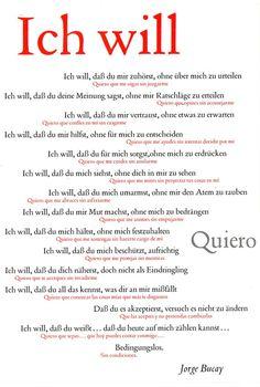 Ich will / Quiero. Plakat gefalzt 9783109906862 - Kohlibri. Bücher und Medien - in Deutschland portofrei!