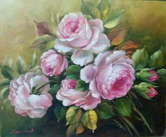 Rosas lindas :artista Rosi Cornetti