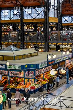 The Great Market Hall or Central Market Hall is the largest and oldest indoor market in Budapest, Hungary. Budapest Travel, Cityscape Photography, Budapest Hungary, Shopping Center, Romania, Belgium, Spain, Europe, Italy