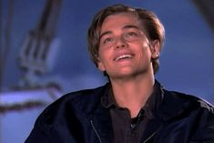 Let's just take a moment to remember how hot Leonardo DiCaprio was in the Titanic.