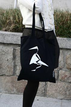 Bolsa pájaro negro, Bolsos y carteras, Bolsas