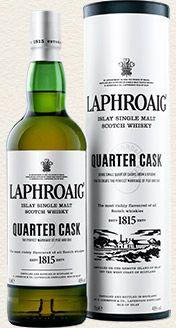 Laphroaig Single Malt Whisky - Quarter Cask single malt available from Whisky Please.