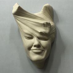 Sculpture by @johnson_tsang_artist #art #hifructose ・・・ Lucid Dream Series II - 10 Porcelain sculpture in progress By Johnson Tsang #ceramics #johnsontsang #sculptures #modernart #arts