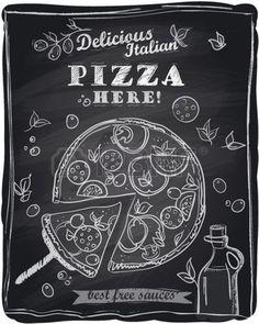 Gourmet - chalkboard