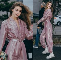Gigi Hadid Outfits, Gigi Hadid Style, Model Outfits, Fashion Outfits, Gigi Hadidi, Flawless Beauty, Famous Models, Hip Hop Fashion, Celebrity Style