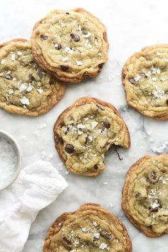 Milk Bar Salted Chocolate Chip Cookies