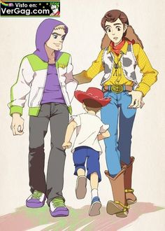 Toy Story Bo Peep | Woody & Buzz as humans. So cute!!