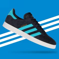 separation shoes 510c0 72e6b adidas Originals Gazelle Blue