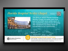Florida Hospital Wesley Chapel Digital Signage
