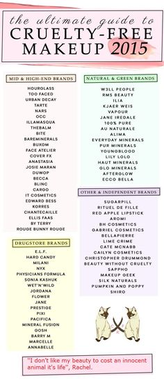 Your Cruelty-Free Beauty Brands: A Complete Guide Plus PDF