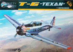 Here is our first look at the Kitty Hawk 1/32 T-6 Texan kit