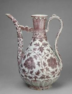 Image result for ming ewer copper red