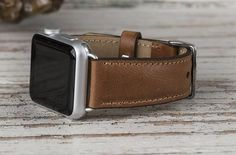 Tan Leather Apple Watch band 42mm 38mm Leather watch band