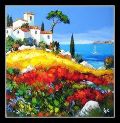 Art Public auctions: Early American Art – Buy Abstract Art Right Landscape Art, Landscape Paintings, Unique Paintings, Buy Art Online, Online Check, Art Auction, Mixed Media Art, American Art, Painting Inspiration
