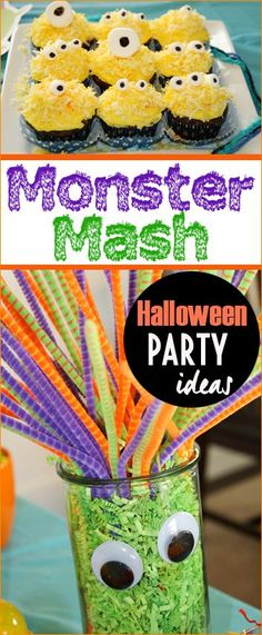 Monster Party Ideas.  Perfect ideas for a Halloween party.