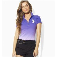 Ralph Lauren Classic Custom Light Purple Big Pony Women  $34.35