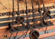 Le Ambiteux museum quality ship model