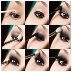 Los Mejores Smokey Eyes de Hollywood Paso a Paso ♥  #ahumado #eyes #fiesta #hollywood #maquillaje #MaquillajedeFiesta #MaquillajedeOjos #mejor #mejores #morena #moreno #noche #OjosAhumados #paso #smokey #SmokeyEyes