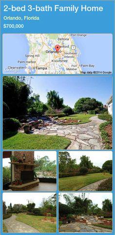 2-bed 3-bath Family Home in Orlando, Florida ►$700,000 #PropertyForSaleFlorida http://florida-magic.com/properties/47803-family-home-for-sale-in-orlando-florida-with-2-bedroom-3-bathroom