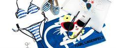 Choupette à la plage - Karl Lagerfeld