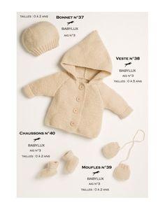 Model cardigan CB15-38 - Free knitting pattern