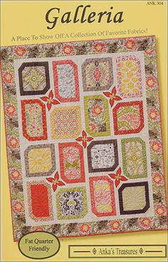 Galleria Quilt Pattern Chateau de Fleurs?