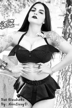 The Elizabeth Bathory Vampira Couture Bandeau Top by MissLizzyD Inspired By…