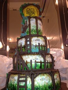 this into the woods cake .... me like :))))