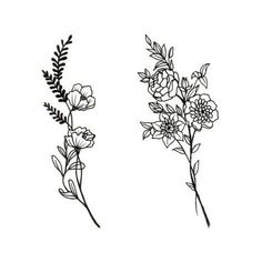 Anyone want flowers? Only $50 for one! Let me know if you want one. #flowertattoo #flower #drawing #tattoo #tattoopeople #toronto #꽃타투 #디자인 #타투 #타투피플 #토론토