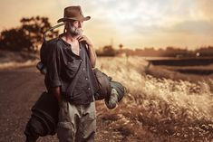 Homeless Portrait. Aaron Draper