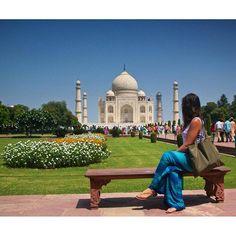 #mytajmemory One of the most amazing places i have ever been. Um dos lugares mais incríveis que já visitei. Sem palavras! Taj Mahal é com certeza uma obra prima da arquitetura e toda sua grandeza eterniza desde o século XVII o amor de um homem por uma mulher. Too much love!  #travel #tajmahal #india #wondersoftheworld #world #worldtraveler #culture #love #greatlove #aroundtheworld #braroundtheworld #maiorviagem #viagem #prefiroviajar #dreams #sonhos by mariagaliassi #IncredibleIndia…