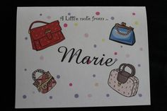 Fun Purses personalized note cards by OlsenEnterprises on Etsy, $10.00