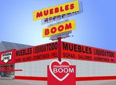 muebles BOOM Alcorcon (Madrid) - C/ Luxemburgo 9 junto Worten (P.C. Parque Oeste) - Tienda Online: www.mueblesboom.com