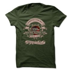 Gun Rights T-Shirt - Protected By 2nd Amendment - #teacher gift #novio gift. LOWEST PRICE => https://www.sunfrog.com/LifeStyle/Gun-Rights-T-Shirt--Protected-By-2nd-Amendment.html?id=60505