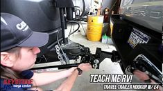 Teach Me RV!- How to hook up your Equalizer hitch system to your travel trailer. New Travel Trailers, Rv Travel, Camper Trailers, Camping In Texas, Rv Camping, Camping Ideas, Glamping, Keystone Rv, Trailer Hitch