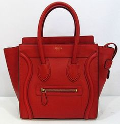 Celine luggage micro in red. Just sayin..