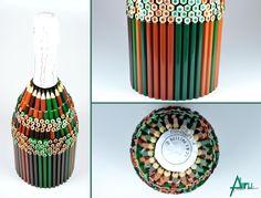 - La Bottiglia - Lighting, Sign, Google, Home Decor, Decoration Home, Light Fixtures, Room Decor, Lights, Lightning