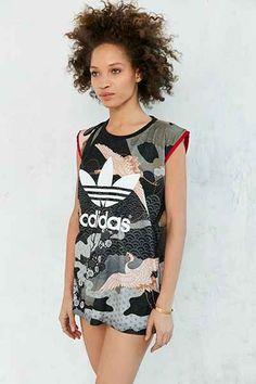 adidas Originals By Rita Ora Kimono Tee - Urban Outfitters