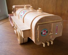 Gas & Oil Truck | Made from Toys and Joys plan. Wood is Sout… | Flickr Awesome Woodworking Ideas, Woodworking Projects, Wooden Toy Cars, Wood Toys Plans, Trucks, How To Plan, Inspirational, Image, Jeeps